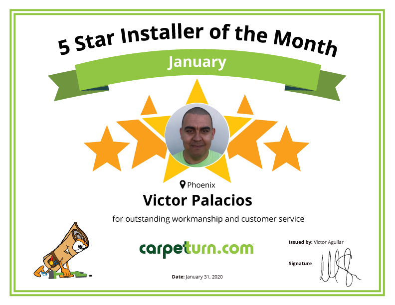 Installer of the Month