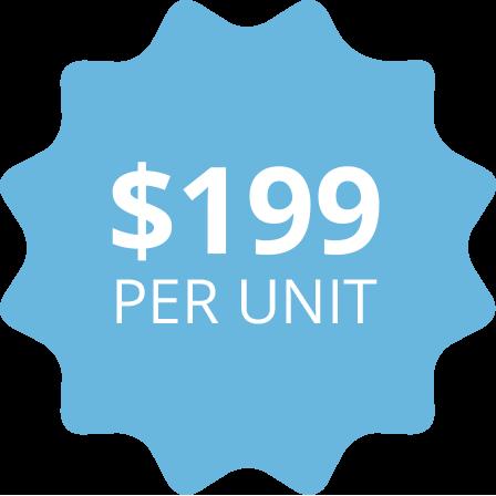 SterilMax $199 per unit