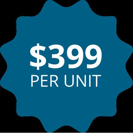 SterilMax Select $399 per unit