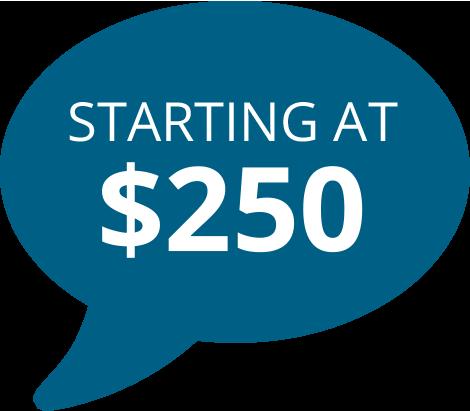 Bio Remediation starting at $250