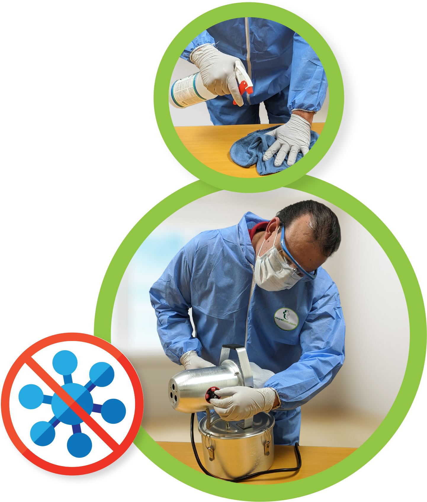2-step cleaning process